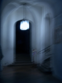 Elisabeth Rass, THE HALLWAY, Series OTHER REALITIES, color photography