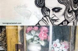 Collage AUFBREZELT IS' - Ausstellung Elisabeth Rass, Herwig Maria Stark, 2017